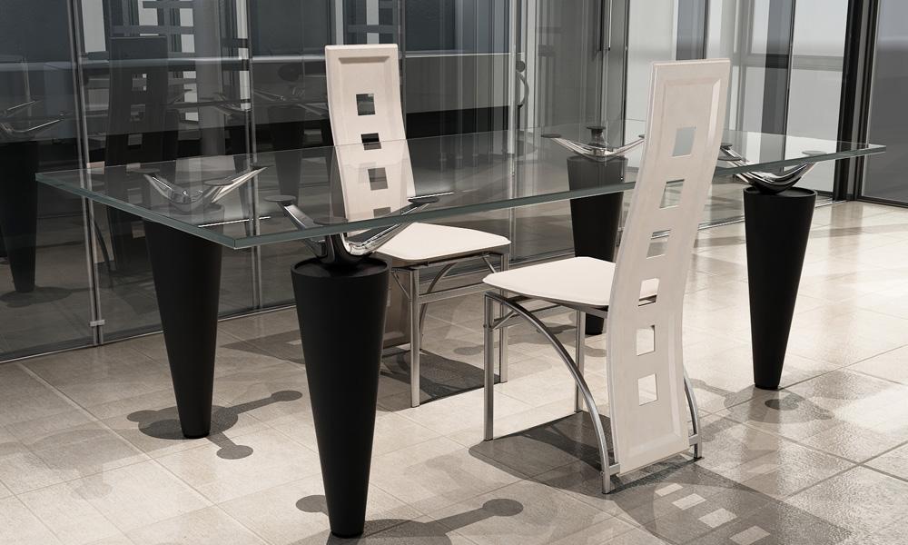 2 ks Jídelní židle s vysokým opěradlem